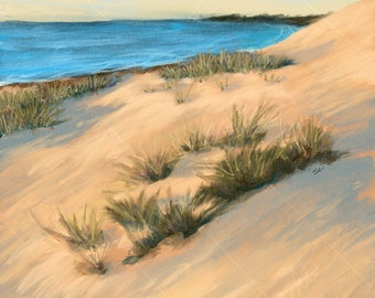 Ocean Painting- Beach, Beach Painting, Coast, Ocean Art, Beach Art, Ocean, Sea, Seaside, Seaside Decor, Beach Decor, Beach House, Beach Chic