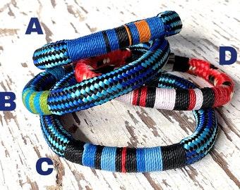 Mens Nautical Bracelet- Waterproof Bracelet, Gift for Sailor or Boating Enthusiasts, Sailing Gift, Boat Gift, Rope Bracelet