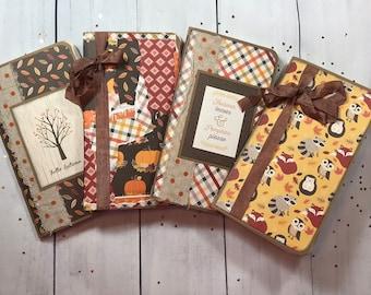 Fall Themed Standard Travelers Notebooks
