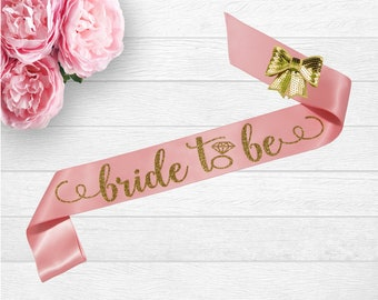 bride to be sash future mrs sash bachelorette sash bride to be gift bridal shower sash glitter sash