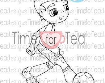 Football Al Digital Stamp
