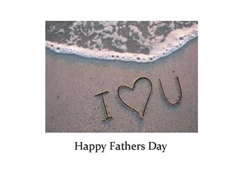 Father's Day Card*(F1) -*Happy Father's Day*Fetta di Vita*Barbara Fetta