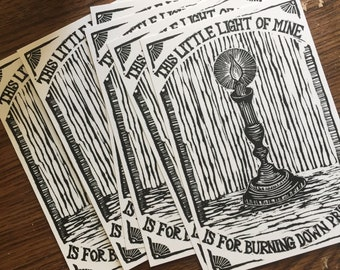 This Little Light of Mine Postcards Pack of 7