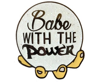 Babe With The Power enamel pin - Labyrinth