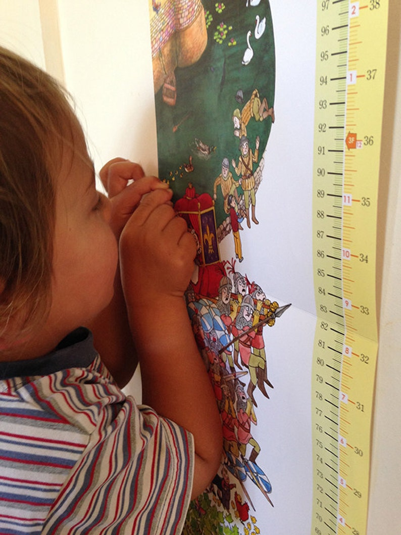 Growth Chart for Growing Giants suitable for recording the image 0