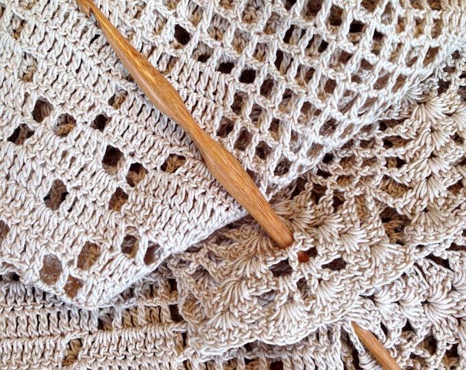 Size G Laurel Hill Trai Crochet Hook - 4.00 mm Exotic Wood Crochet Hook