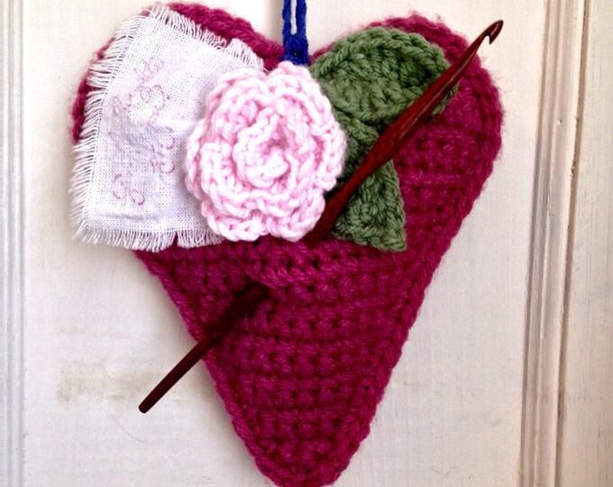 Size F Laurel Hill Nam Oc Crochet Hook - 3.75 mm Exotic Wood Crochet Hook