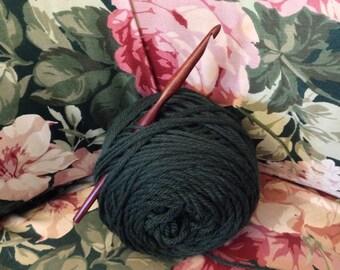 Size I Laurel Hill Nam Oc Crochet Hook - 5.50 mm Exotic Wood Crochet Hook