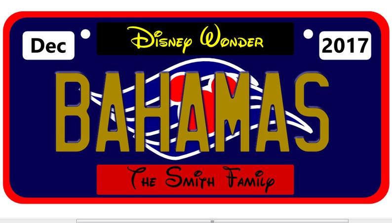 Porte Extender CadeauMagnetDecor Disney AimantPlaque D'immatriculation BahamasPoisson De Cruise MpUzGSVq