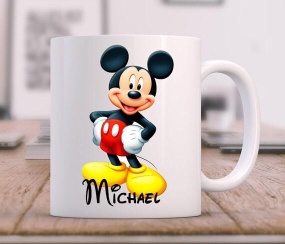 TASSE Mug  Mickey Mouse cadeaux anniversaire Personnalisé