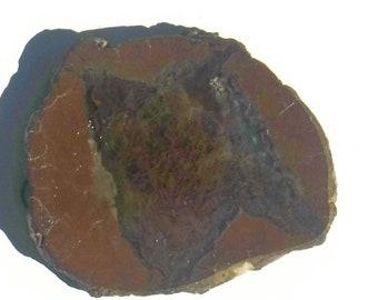 37x33x5.8mm Oregon Graveyard Point Moss Agate bezel 2.2mm