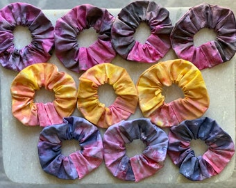 Ice Dyed Scrunchies