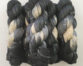 Beaded Silk Yarn