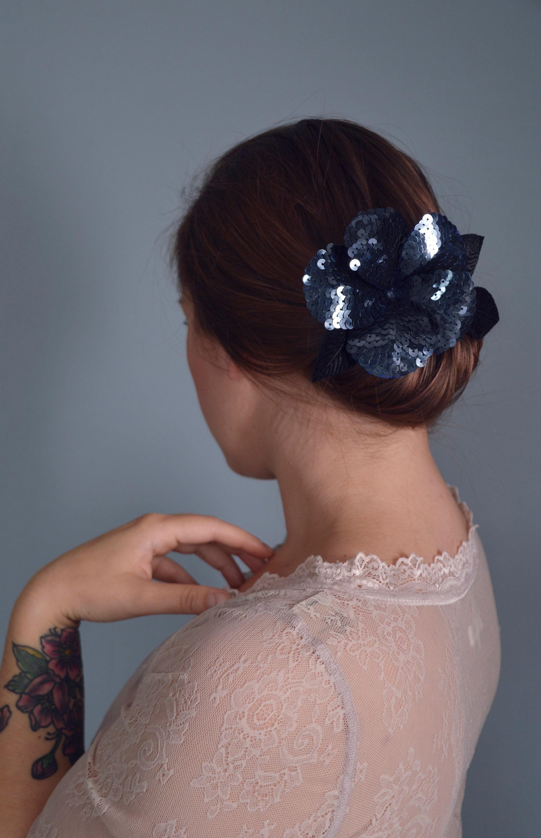 Flower Hair Clip 58b875131ea