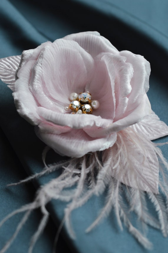 Blush Rose- Pink Fascinator