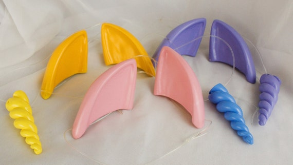 mlp my little pony friendship is magic inspired pony cat ears etsy