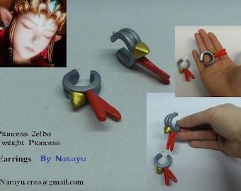 Royal earrings Princess Zelda