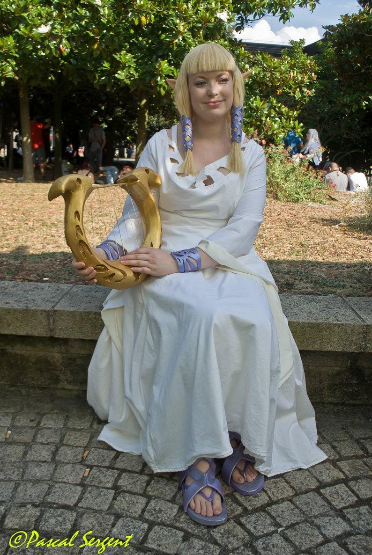 Goddess Hylia Zelda accessories set