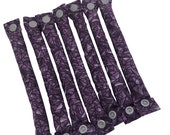 Purple stained glass pattern Soft Hair Rollers 3/4 inch/ Hair Accessories/Soft Hair Curlers
