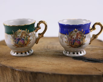 Adam gold collection espresso cups