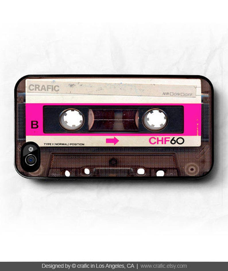 cassette iphone 7 case