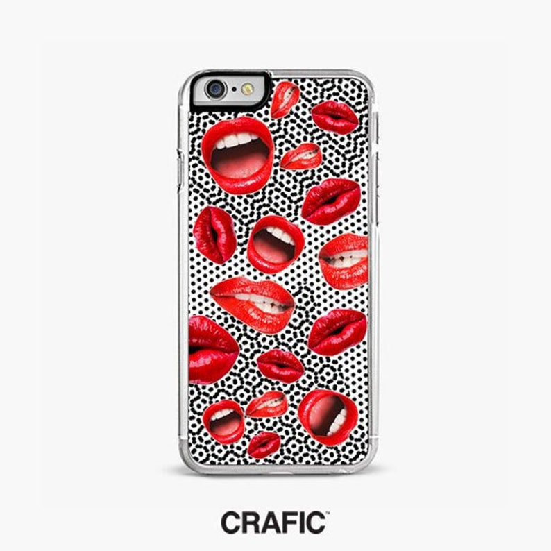 iphone xs case lips