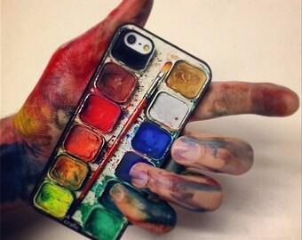 Watercolor Set iPhone 6s Case, iPhone 6 plus, iPhone 7 case, iPhone 7 Plus case, iPhone 8 case, iPhone 8 plus case, iPhone se case