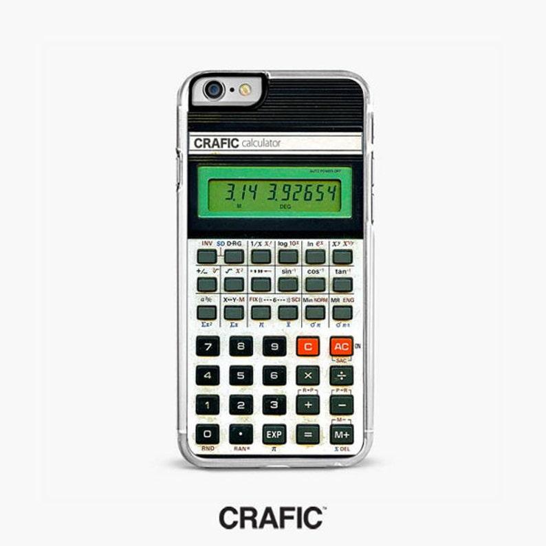 RETRO CALCULATOR iPhone 7 case, iPhone 7 plus case, iPhone 8 plus case,  iPhone 6s case, iPhone 6 Plus case, iPhone 8 Case,