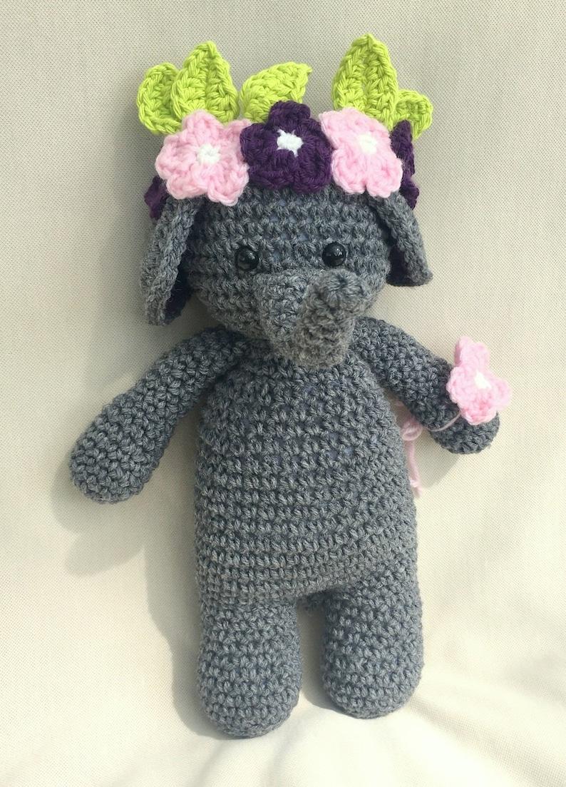 Sweet Elephants Free Crochet Patterns | 1103x794