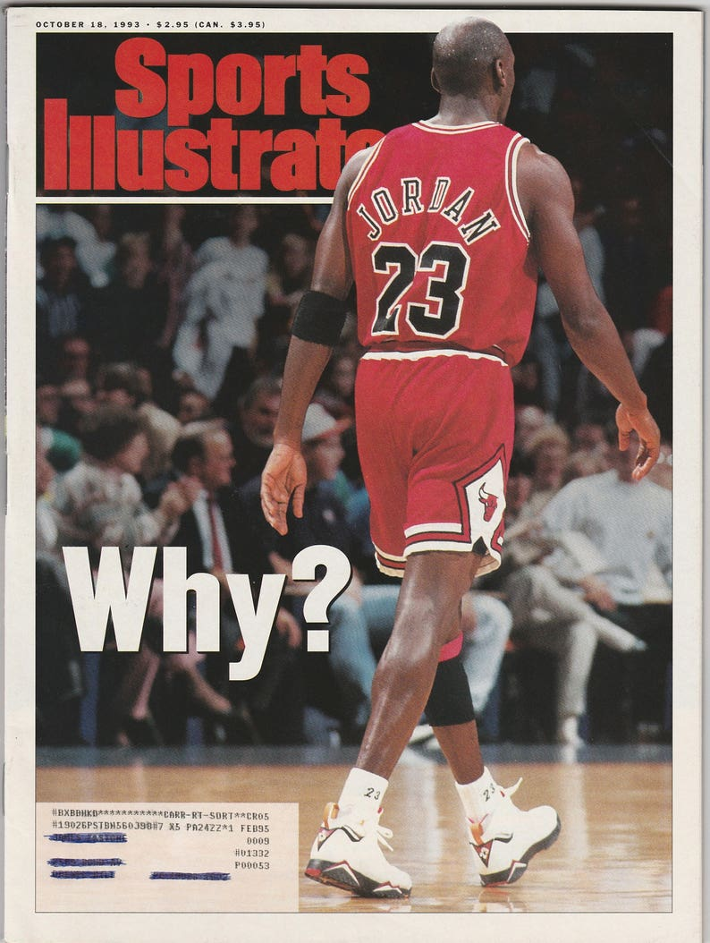 9b294bbff2a3e5 Sports Illustrated 10 18 93 Michael Jordan On The Cover