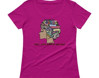 Don't Judge A Girl By Her Hair Short Sleeve T-Shirt