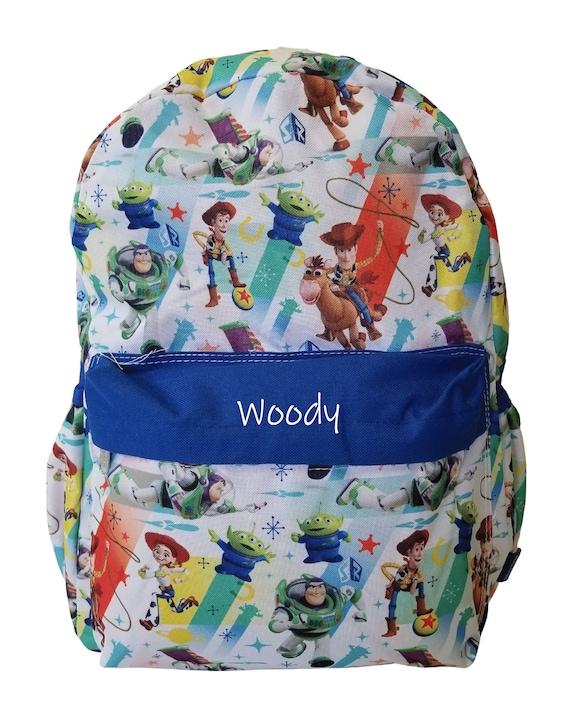 Disney Pixar Cars Lightning Mcqueen 16 backpack Face