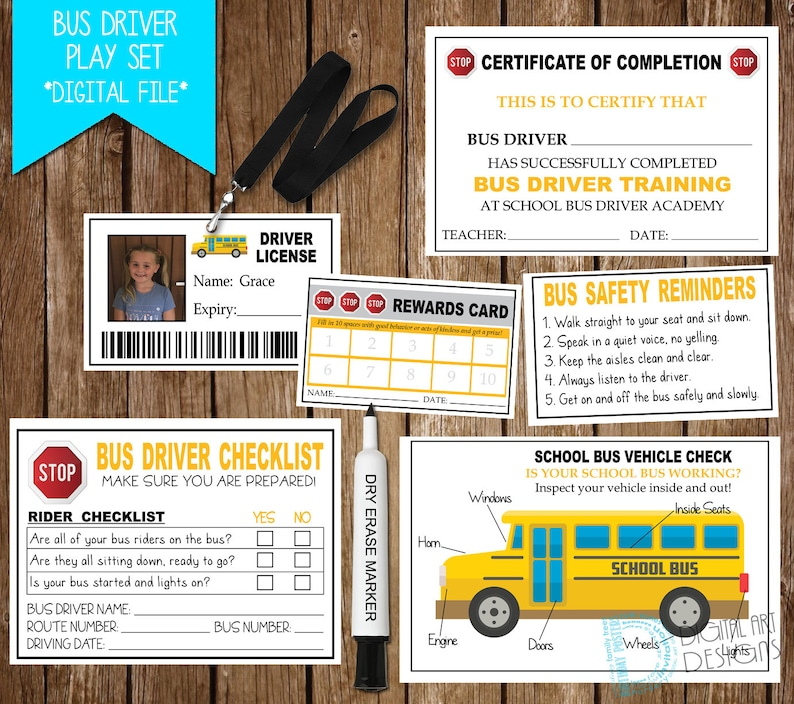 image regarding Printable School Bus Rules known as Bus Driver Bogus Participate in Print, College or university Bus Printable, Faculty Bus Faux, Fake Driver Enjoy, Bus Driver Enjoy, Exclusive Items For Children
