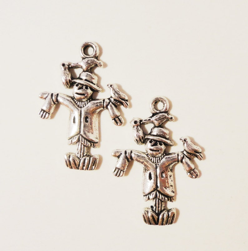 10pcs Antique Silver Large Cross Crucifix Charms Pendants Jewelry Findings
