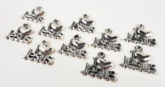 5//50pcs 20x19mm Antique Bronze Love Word Tibetan Charms Pendants LF