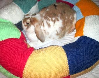 Sacramento Rabbit Rescue big Ugli Donut rabbit bed