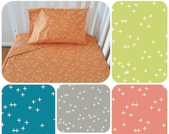 Organic Crib Sheet Set, Neutral, Toddler Sheet Set, Crib Sheets, Organic Crib Sheets, Toddler Bedding, Organic Toddler Bedding, Wink