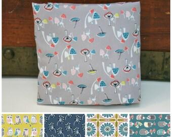Organic Crib Sheet, Mini Co-Sleeper, Co-Sleeper, Pack n Play, Mini Crib, Fitted Crib Sheet, Anya, Toadstools, Toddler Sheet, Owls, Hedgehogs