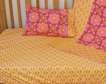 Organic Crib Sheet, Organic Toddler Sheet, Crib Sheet Girl, Crib Sheets, Organic Fitted Crib Sheet, Organic Cotton Crib Sheet, Baby Girl