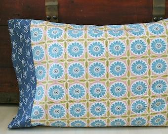 Organic Pillowcase, Floral, Organic Standard Pillowcase, Handmade, Pillow Cases, Custom Pillowcase, Pillowcases Floral, Anya, Eco Pillowcase