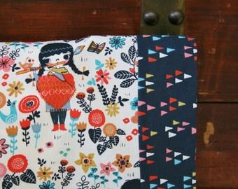 Organic Pillowcase, Girl, Organic Standard Pillowcase, Pillowcase, Wildland, Floral, Windsong, Arrowheads, Arrows, Organic Cotton Pillowcase