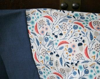 Organic Pillowcase, Organic Standard Pillowcase, Floral Pillowcase, Deco Delight, Floral,  Pillow Cases, Custom Pillowcase, Ready to Ship