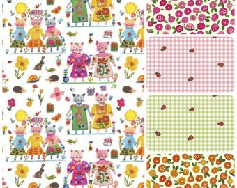 Organic Toddler Pillowcase, Organic Toddler Bedding, Girl, Gingham, Ladybugs, Kitties, Cats, Floral, Travel Pillowcase, Organic Cotton
