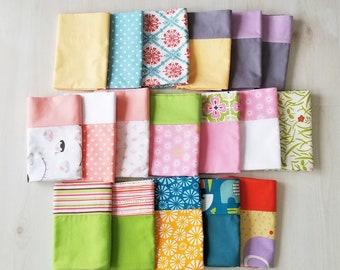 Organic toddler pillowcase, organic travel pillowcase, kids, gift for her, gift for him, gift for the traveler, toddler bedding
