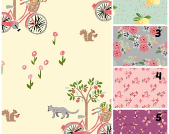 Organic Crib Sheet, Girl, Floral, Mini Co-Sleeper, Co-Sleeper, Pack n Play, Mini Crib, Fitted Crib Sheet, Organic Toddler Sheet, Bloom
