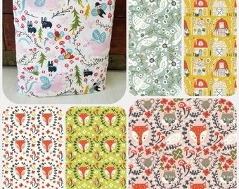 Organic Crib Sheet, Mini Crib, Mini Co-Sleeper, Co-Sleeper, Pack n Play, Travel Crib Sheet, Organic Toddler Sheet, Organic, Folkland