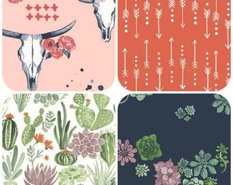Organic Crib Sheet, Mini Crib, Mini Co-Sleeper, Co-Sleeper, Pack n Play, Travel Crib Sheet, Organic, Toddler Sheet, Journey, Arrows, Floral