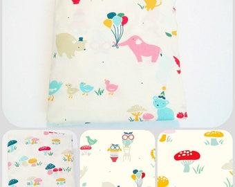 Organic, Mini Co-Sleeper, Co-Sleeper, Pack n Play, Mini Crib, Fitted, Crib Sheet, Organic Crib Sheet, It's My Party, Animal, Toddler Sheet