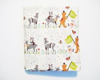 Organic Crib Sheet, Oraganic, Mini Cosleeper, Cosleeper, Pack n Play, Mini Crib, Crib Sheet, Animal Parade, Deer, Bears, Toddler Sheet