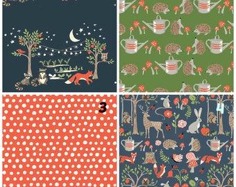 Organic Crib Sheet, Mini Co-Sleeper, Co-Sleeper, Pack n Play, Mini Crib, Fitted Crib Sheet, Cottage Garden, Hedgehogs Crib Sheet, Toadstools